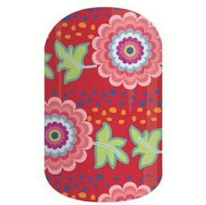 Jamberry Nail Wraps 4B13 - Nepal Relief